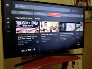 "40"" smart tv with built in WiFi *ALMOST NEW*"
