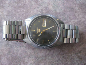 "Montre Homme - Seiko ""5"" automatic - Day/Date - Used"