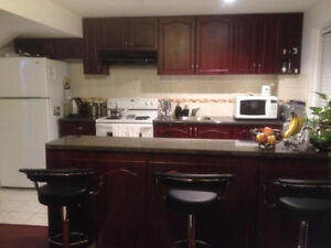 $1400 / Month 2 Bedroom Basement Apartment Ajax