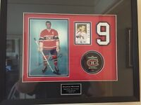 Maurice Richard Montreal Canadians Autographed