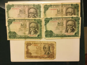 Billets de collection de pesos mexicain