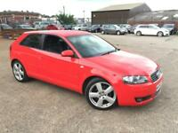 Audi A3 2.0 TDI S LINE DSG AUTO,HPI CLEAR,2 OWNER,LEATHER HEATED SEATS,A/C,ALLOY