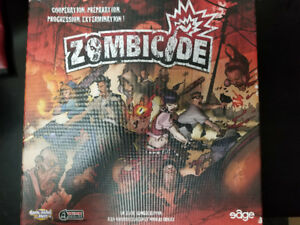 Zombicide Board Game w/ some painted miniatures (FRENCH)