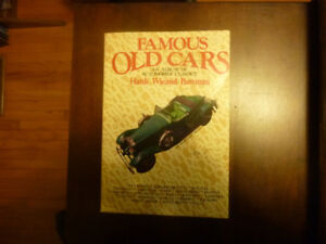Famous Old Cars book