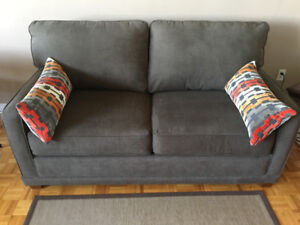 Gently Used 2-year Old Lazyboy Sofa Bed for Sale