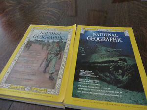 Collection National Geographic 1965 à 1 avril 1976