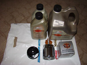 Harley Davidson S3 Oil, Filter & Wrench & Derby Cover