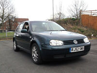 LATE 2002 52 VOLKSWAGEN GOLF 2.3 V5 MANUAL 5 DOOR PX SWAP SWOP