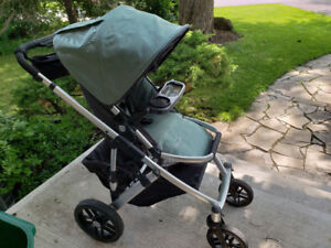 Uppa baby vista stroller with bassinet