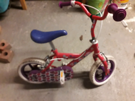 12 inch girls bike for sale.