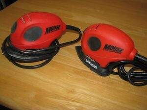 BLACK AND DECKER  MOUSE SANDERS  $ 25.00 EACH