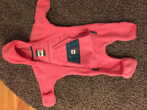 6m Pink MEC Fleece bunting suit London Ontario image 1