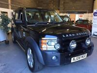 2008 08 LandRover Discovery HSE 7 Seater,Black FSH