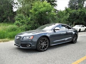 2008 Audi S5 Coupe, 4.2L Engine, 6 Speed Manual, Very Low Km!!!