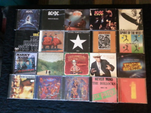 REDUCED Music CDs, something for everybody