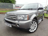 2008 Land Rover Range Rover Sport 3.6TD V8 Auto HSE - KMT Cars