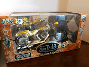VON DUTCH DOECAST MODEL MOTORCYCLE