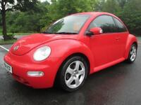 04/04 VOLKSWAGEN BEETLE 1.9 TDI 3DR HATCH IN RED WITH SERVICE HISTORY