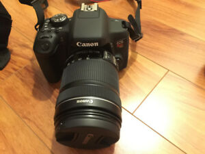 Canon T6i / 750D DSLR Camera Body + Canon EF-S 18-135mm + EF 50m
