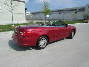 2008 Chrysler Sebring, Convertible,Only 108000km, warranty avail