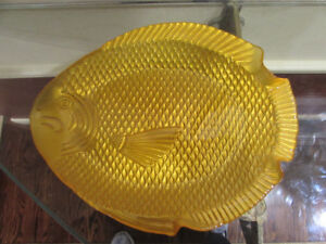 Glass Fish Platters