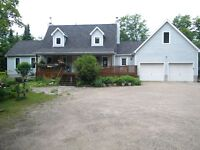 country living! great home in an unorganized township
