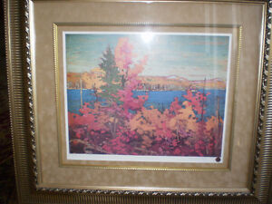 "Tom Thomson - "" Autumn Foliage ""-  Limited Edition Print - Kitchener / Waterloo Kitchener Area image 2"
