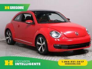 2012 Volkswagen BEETLE Premiere+ CUIR TOIT NAV MAGS BLUETOOTH