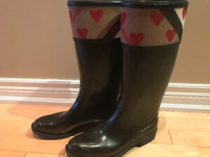 Burberry rainboots for sale