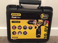 Stanley FatMax Lithium 10.8V Drill.