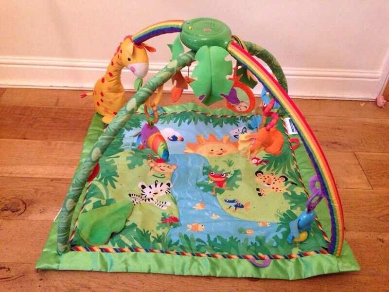 Fisher Price melodies and lights jungle gym 0+m