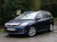 2010 Ford Focus 1.8 Zetec S 5dr +RARE ZETEC S +1 LADY OWN +BLUETOOTH +2 KEYS EST