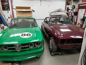 Alfa Romeo Great Selection Of Classic Retro Drag And Muscle Cars