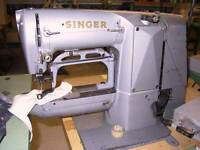 Singer Tacker, Industrial sewing machine