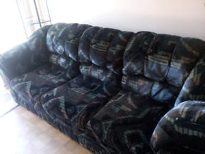 Bad boy's Sofa and a loveseat _$200 OBO