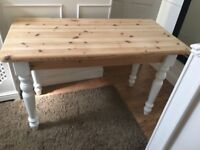 Chunky solid slim table dining / nail / beauty dressing table ? £40 b on Avon