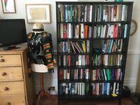 Bookcase black IKEA