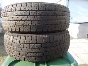 p185/65/14 inch all season tires / GOOD TREAD/ GOOD DEAL