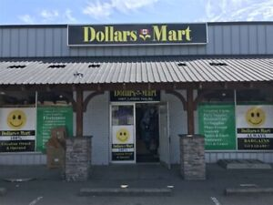 Reduced! Busy Dollar Store Business For Sale in Chilliwack