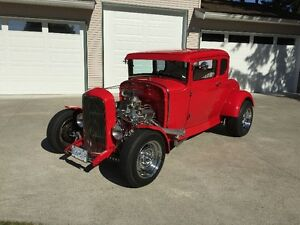 1931 Ford Model A 5 Window Coupe...All Ford Powered!!