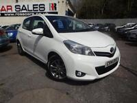 2014 14 TOYOTA YARIS 1.3 VVT-I ICON PLUS 5D 99 BHP