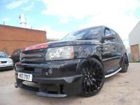 LAND ROVER RANGE ROVER SPORT 3.6 TDV8 PROJECT KAHN BLACK LABEL EDITION
