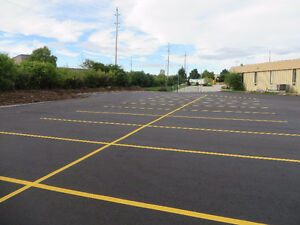 PARKING LOT PAINTING AND PAVEMENT MARKINGS Cambridge Kitchener Area image 1