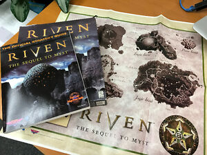 Riven: The Sequel to Myst - PC/Mac + extra Hint Book