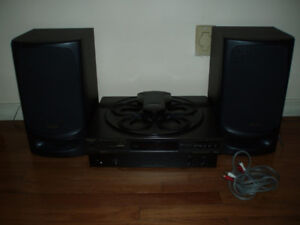 Russound P75  75w Amplifier  w/ Technics 5 CD Changer & Speakers