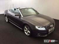 Audi A5 53593 MILES + 2.0 TDI S Line 2dr [Start Stop] + FULL SERVICE HISTORY (grey) 2010