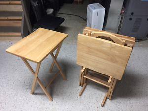 Maple TV Tables