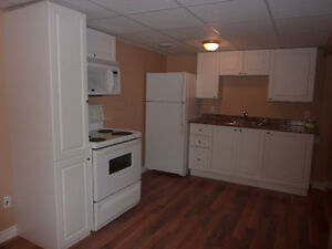 Modern clean one bedroom basement apartment in Niagara Falls