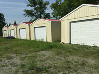 Your own Storage buildings or Single Car Garages