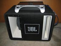 JBL SUBWOOFER AND AMP 300W
